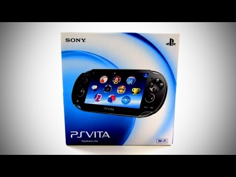PlayStation Vita Unboxing (PS Vita)