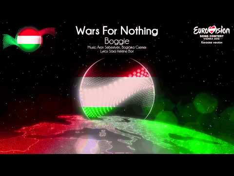 "Boggie - ""Wars For Nothing"" (Hungary) - [Karaoke version]"