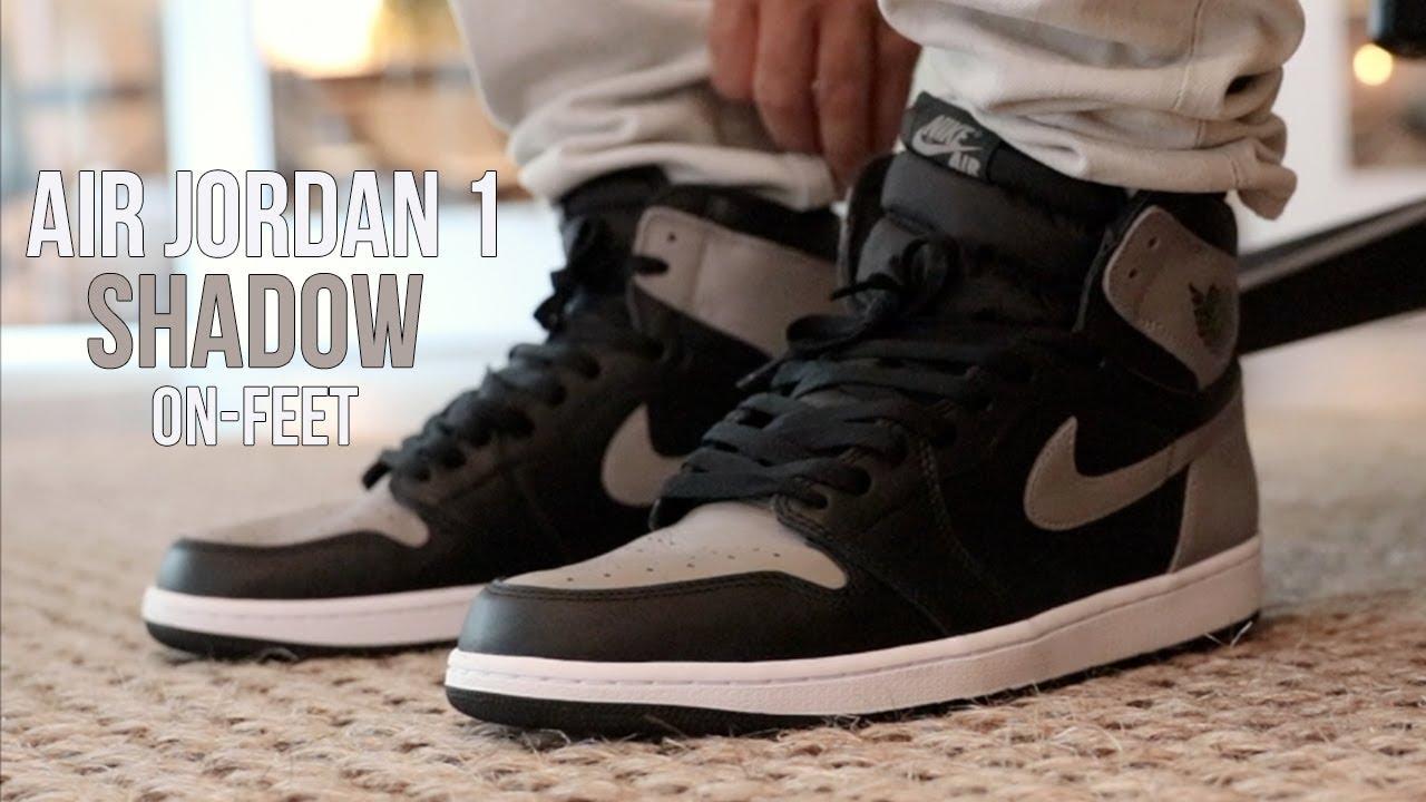 d0d7721f1cf8 AIR JORDAN 1 SHADOW REVIEW! - YouTube