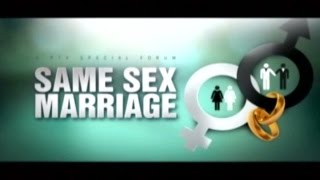 (Part 2) SAME SEX MARRIAGE (1 of 3) - PTV Special Forum - October 22, 2014