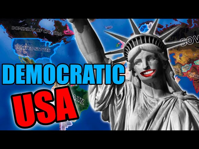 Dominating the World as Totally Democratic USA