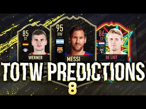 FIFA 20 | TOTW PREDICTIONS 8 | FT. MESSI