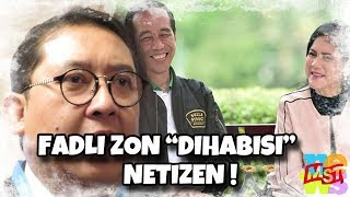Download Video Nyinyiri Keluarga Jokowi, Fadli Zon 'Di (hab) isi' Netizen MP3 3GP MP4