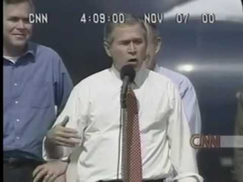 Election Night 2000 CNN Coverage Part 1
