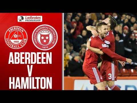 Aberdeen 3-0 Hamilton | Aberdeen put 3 past The Accies! | Ladbrokes Premiership