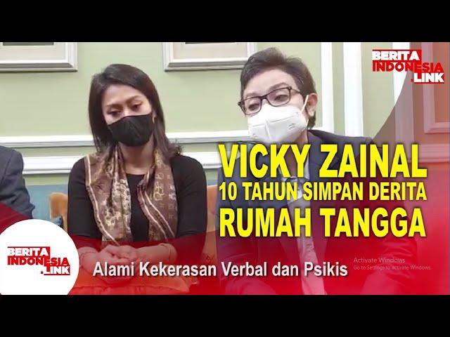 Vicky Zainal Mengaku Alami KDRT