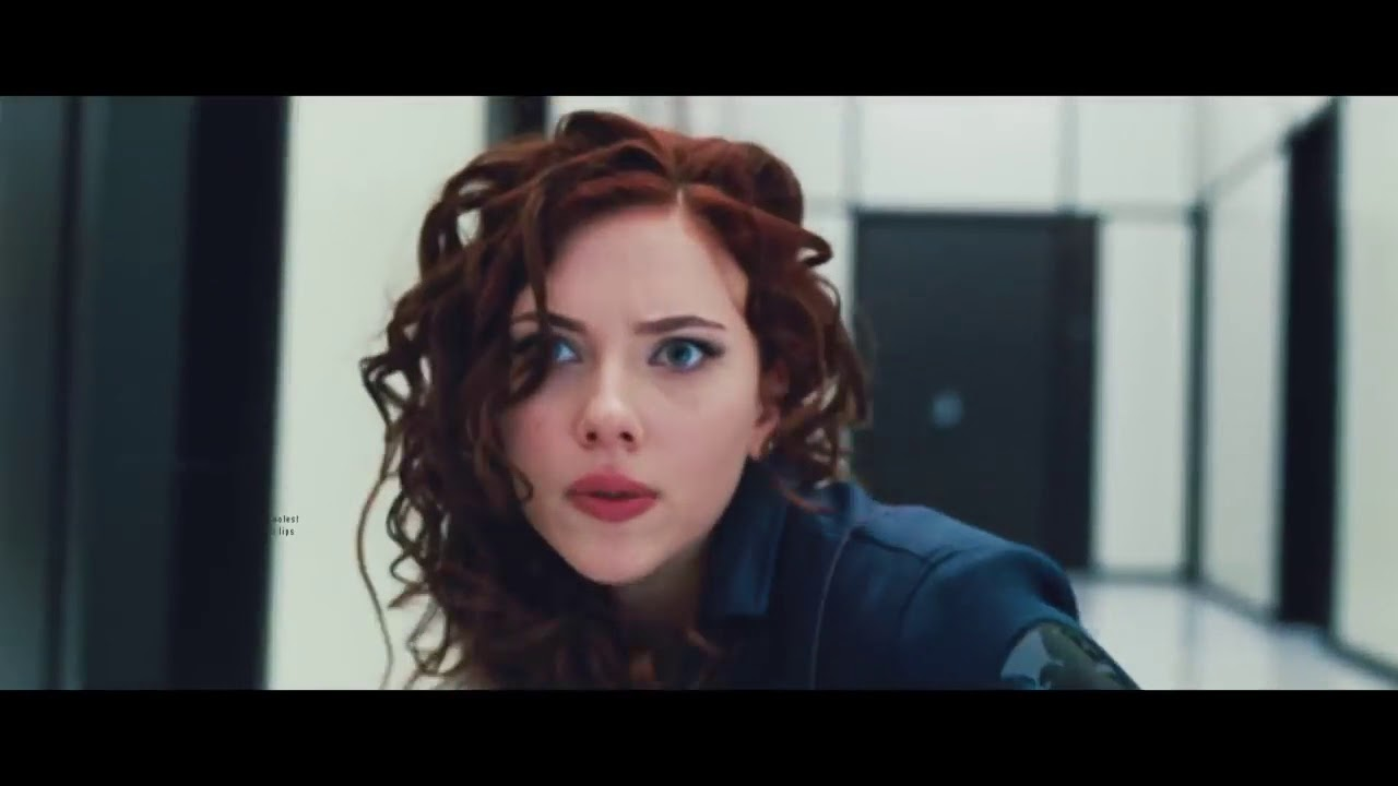 Black Widow vs Security - Fight Scene - Iron Man 2 (2010) HD