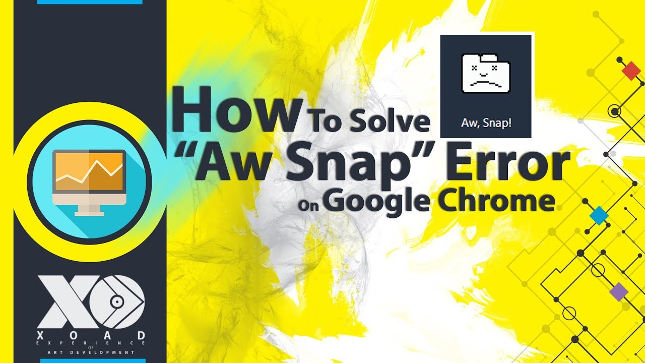 How To Solve Aw Snap Error👾On Google Chrome In Hindi | XOAD