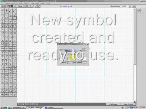 creating a symbol with ez schematics wmv youtube rh youtube com Electronic Schematic Symbols Pneumatic and Hydraulic Schematic Symbols