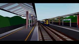 ROBLOX SCR TIMELAPSE: R020 Whitefield to Stepford Central by Class 158