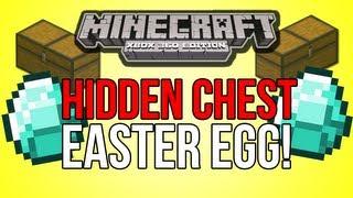 Minecraft (Xbox 360) - HIDDEN CHEST EASTER EGG! - Tutorial World!