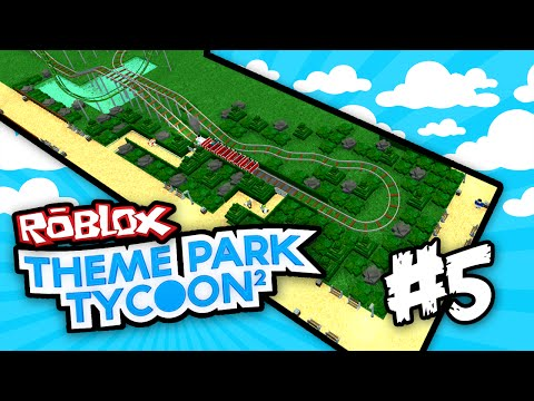 Theme Park Tycoon 2 #5 - TRANSPORT RIDES (Roblox Theme Park