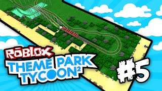 Theme Park Tycoon 2 #5 - TRANSPORT RIDES (Roblox Theme Park Tycoon 2)