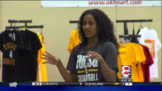 Skylar Diggins Spends Time With Local Youth Players