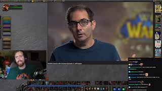 Asmongoldand39s Reaction To Wow® Classic With Creators Episode 3 Jeff Kaplan