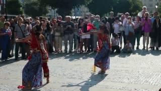 Indonesische traditionelle Kunst Aufführungen