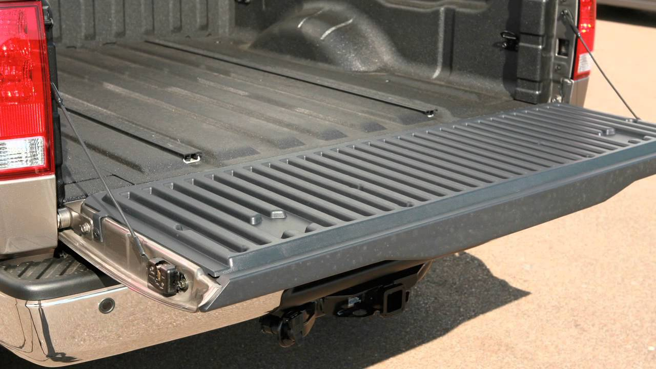 2012 Nissan Titan Tailgate Operations Youtube