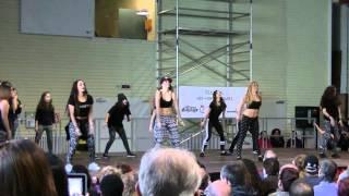 Urban Dance Factory Festival Navidad 2014 Dancehall I Magali