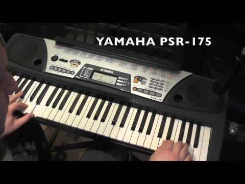 yamaha psr 175 youtube rh youtube com Electronic Keyboard Yamaha PSR 185 Yamaha PSR 195 Manual