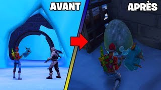 ENTRER in the SOUS-SOL of POLAR PEAK 'STE' (Glitch Fortnite)