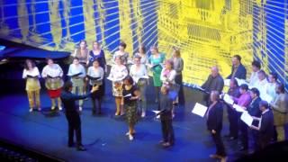 Open Huis Nationale Opera 2014 en Ballet Optreden koor Nederlandse Opera