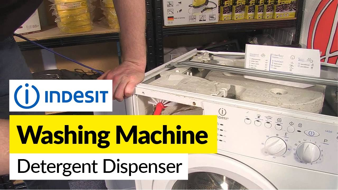 Indesit Washing Machine Detergent Dispenser Problems Youtube