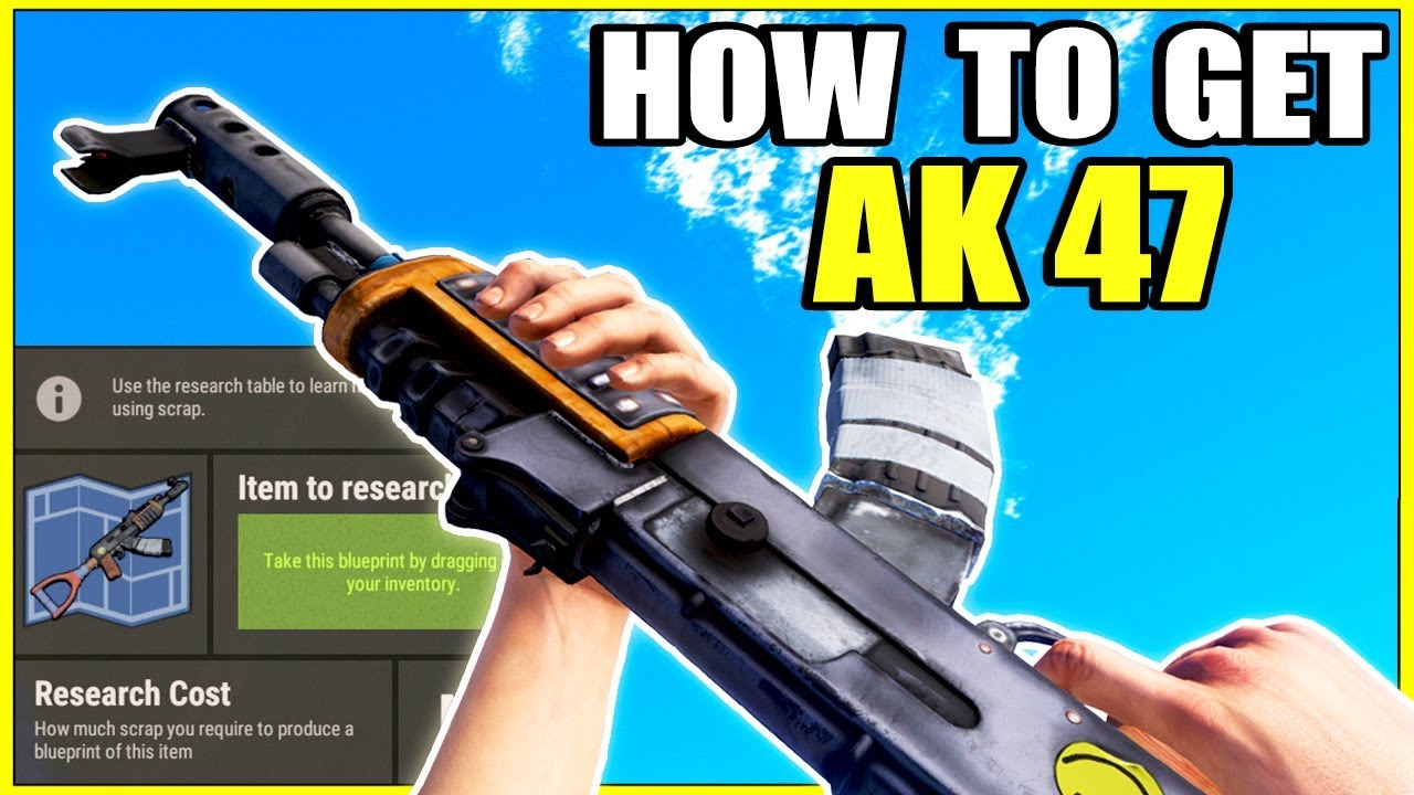 Best scam in rust how to get ak 47 assault rifle easy scamming how to get ak 47 assault rifle easy scamming a rust shop rust raiding pvp malvernweather Gallery