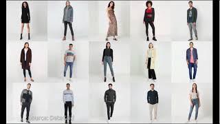AI maakt Virtuele Modellen voor reclame en mode.