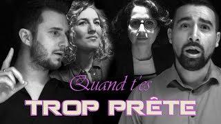 QUAND T'ES TROP PRETE feat NADIA ROZ ET DJ KAYZ
