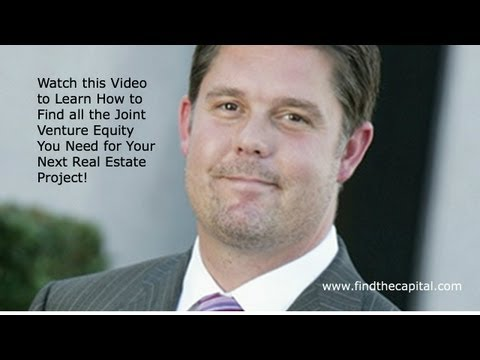 Why it is Difficult to Find Joint Venture Equity for Real Estate