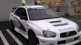 Subaru Impreza STI von einen Freund in Tokio