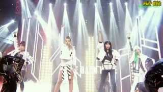 Repeat youtube video [LIVE]140323 2NE1 투애니원 - Come Back Home Sub Español + Fanchant