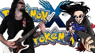 "Pokemon X/Y Champion Diantha Theme ""Epic Rock"" Cover (Little V)"