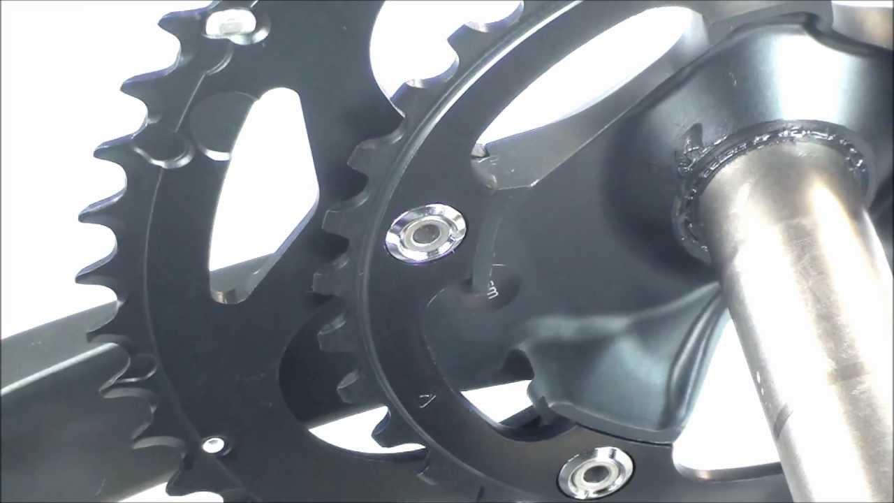 Shimano 105 5700 Chainset Youtube