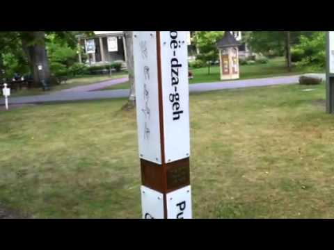 Peace Pole, Chautauqua Institute, 2011