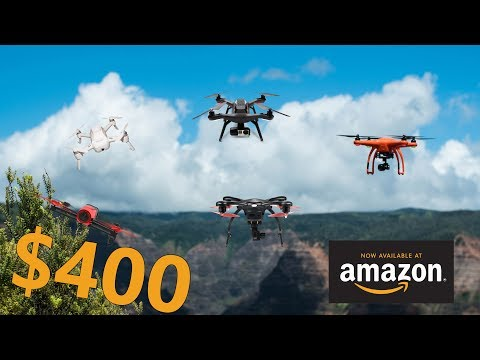 Top 5 Coolest Drones on Amazon Under $400 | best quadcopter you can buy now – 2018
