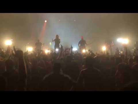 Underoath - A Boy Brushed Red (Live - from the mosh pit 5/9/18)