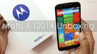 Moto X 2nd Gen 2014 Android Phone Unboxing & Overview