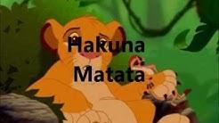 Der König der Löwen - Hakuna Matata (Lyrics)