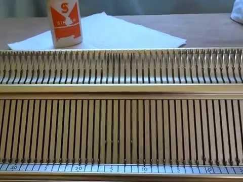 22 lubrification machine tricoter singer youtube. Black Bedroom Furniture Sets. Home Design Ideas