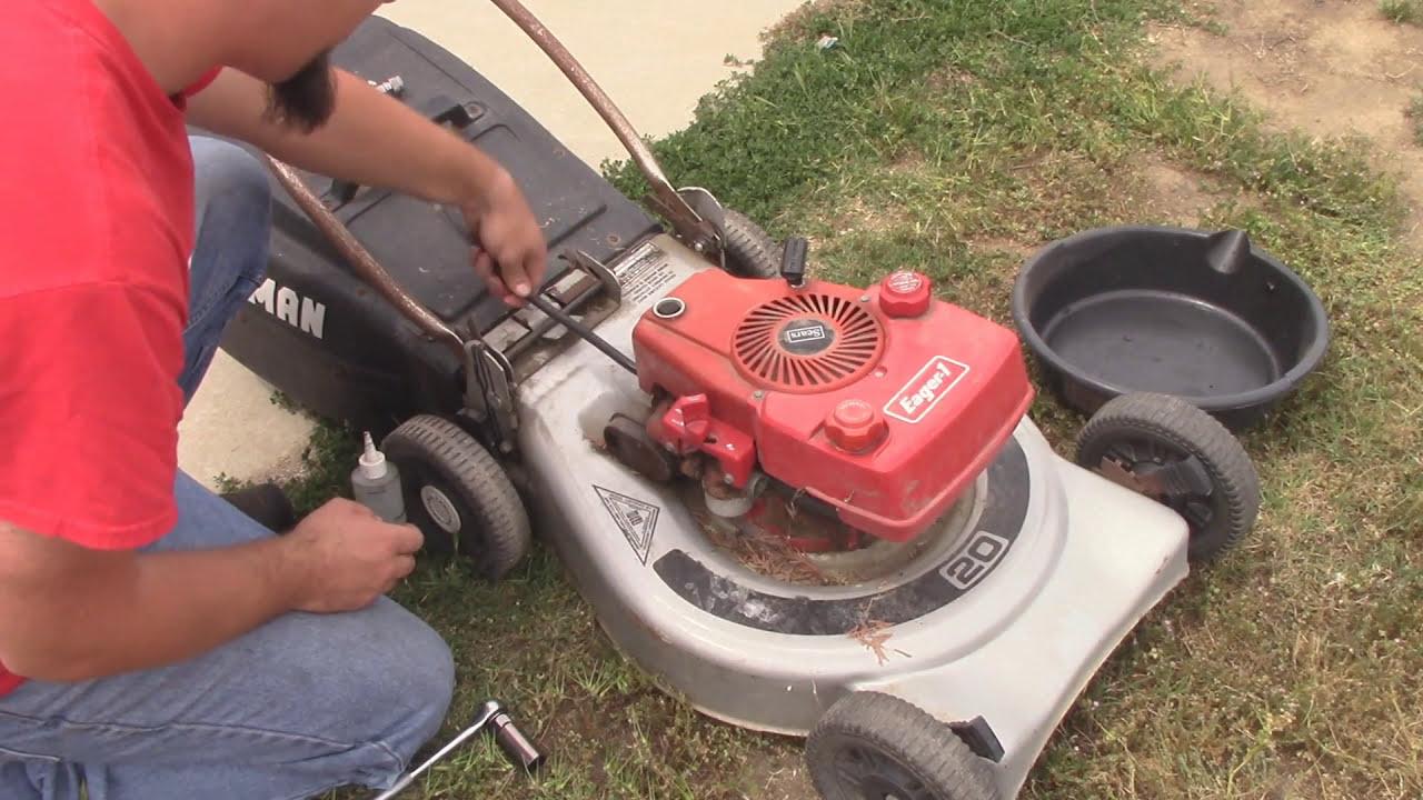 Saving A Vintage Craftsman Tecumseh Mower Youtube