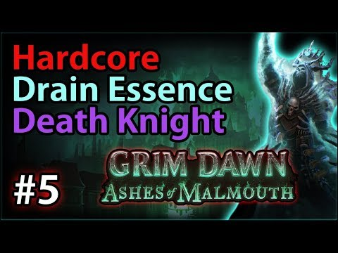 Spined Cove & Spectral War Shield - #5 - Hardcore Death Knight - Grim Dawn: Ashes of Malmouth