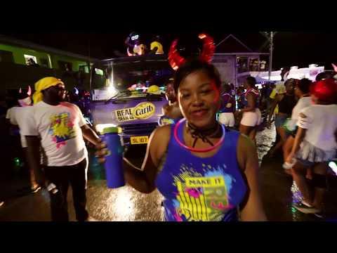 Grenada Spicemas Carnival Monday Night Mas 2017