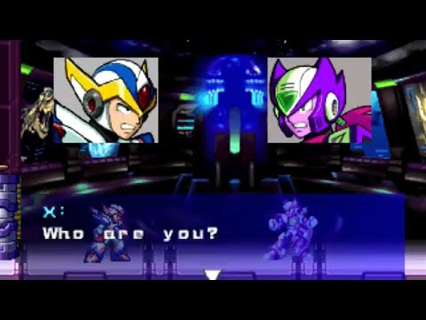Megaman X6 vs Nightmare Zero [Secret Portal]