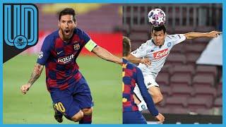 El equipo catalán, comandado por Lionel Messi, se impuso al Napoli para avanzar a los cuartos de final de la Liga de Campeones