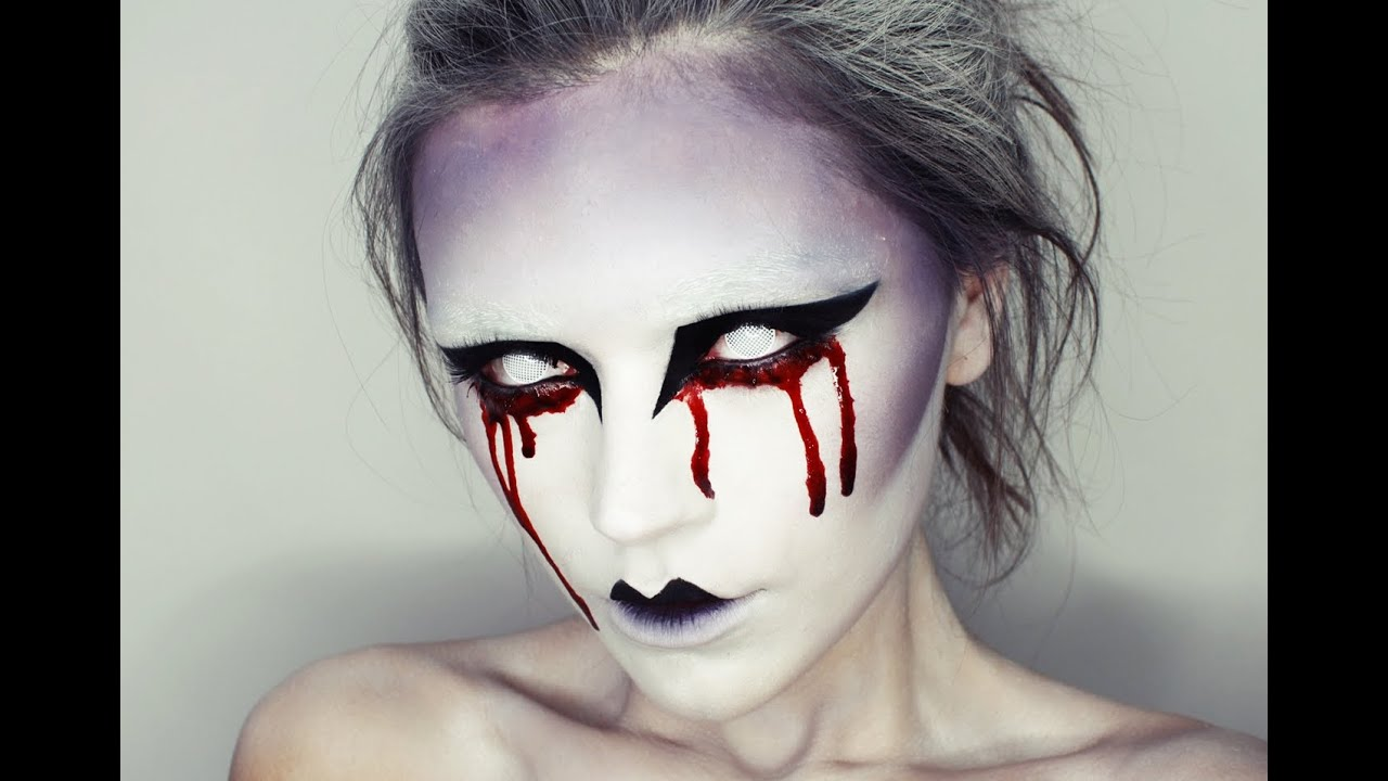 Halloween makeup - YouTube