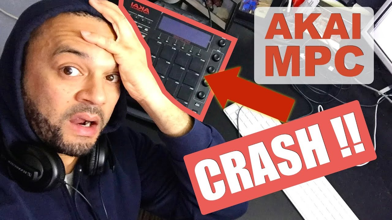 *CRASH* Akai MPC Studio Beat Making - My MPC Crashes!!