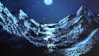 Moonlit Mountain - Painting Lesson