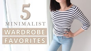 5 Minimalist Wardrobe Favourites – My Uniform, Affordable, Budget-Friendly