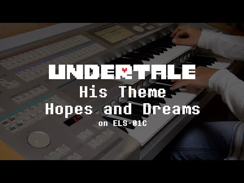 Undertale – His Theme〜Hopes and Dreamsをエレクトーンで演奏してみた。(His Theme, Hopes and Dreams Electone Cover)